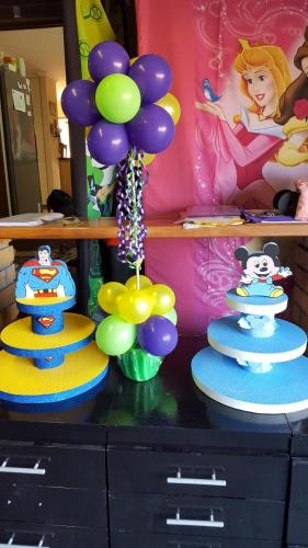 Styrofoam Cupcake Stand