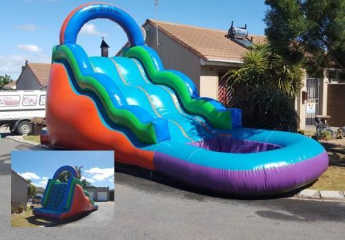 5 x 10m Wave slide